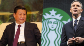 Chinese President To Former Starbucks CEO: Help Fix US-China Relation