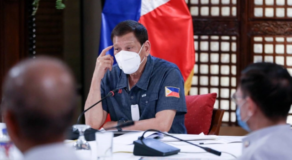 Duterte To Take 1st COVID-19 Vaccine But In Private