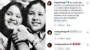 Janice de Belen Shares Throwback Photo w/ Julie Vega, Celebrities React