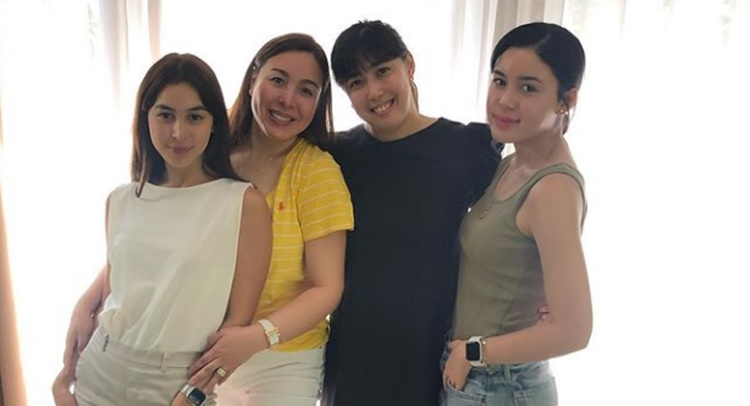 marjorie barretto julia barretto dani barretto claudia barretto