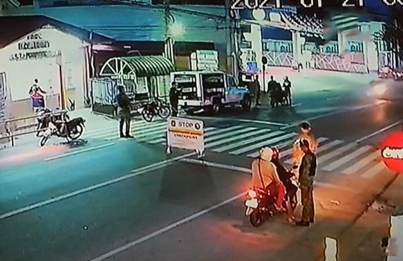 Tricycle Driver Slammed Signage