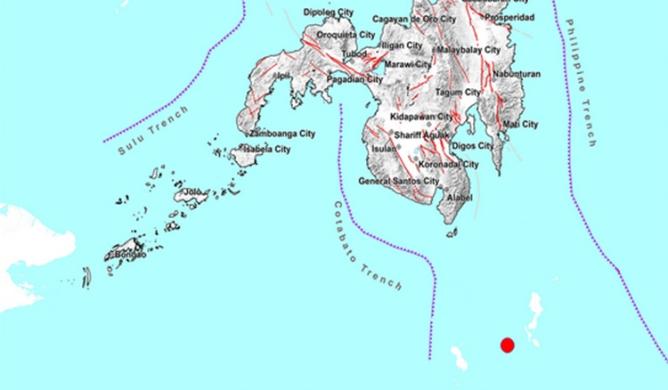 Earthquake Davao Occidental