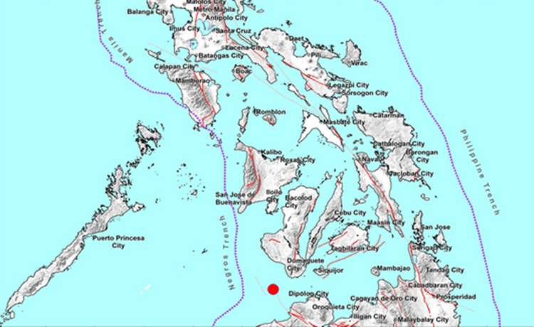 Earthquake Negros Oriental