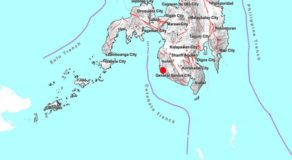 JUST IN: 3.6 Magnitude Earthquake Hits Sultan Kudarat