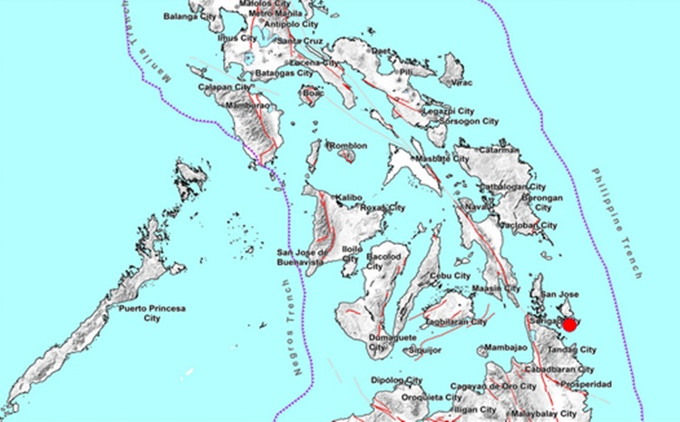 Earthquake Surigao del Norte