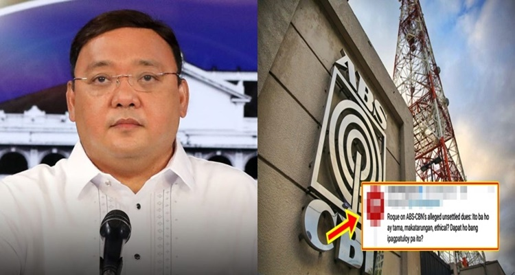Harry Roque, ABS-CBN Network