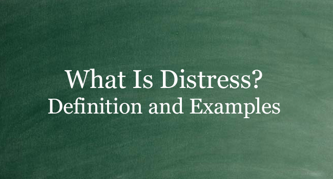 What Is Distress