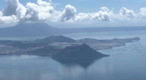 Phivolcs Records 130 Volcanic Tremor Episodes at Taal Volcano