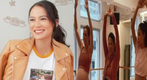 Isabelle Daza Dancing Video From Pilates-Themed Baby Shower
