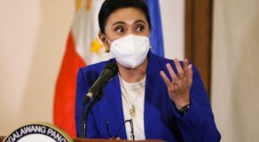 Robredo Gives Message to Filipinos Amid PH  Fight Against COVID-19