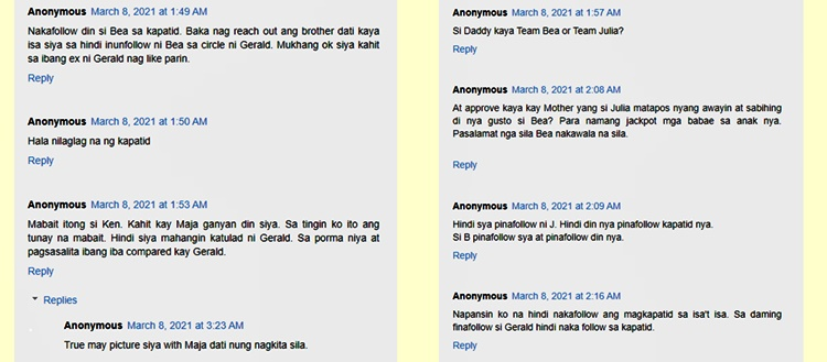 netizens comment on gerald anderson brother