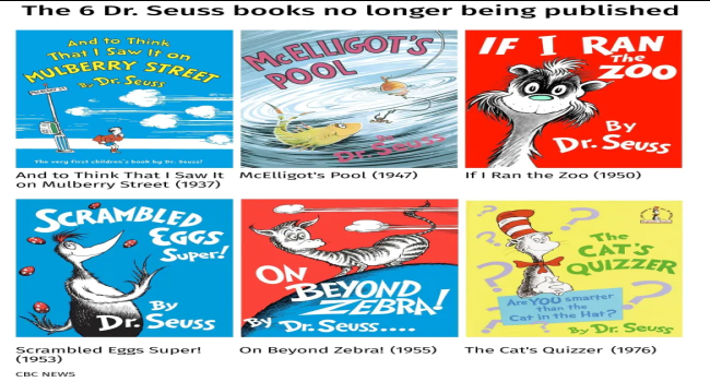"""Six Dr. Seuss Books Cancelled Due To """"Racist Imagery"""""""