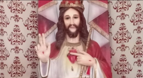 Gunman Shoots Christ The King Statue Thrice In Catholic Church