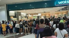 Shoppers Flocked at Watsons Stores to Purchase Ever Bilena During P38 Sale
