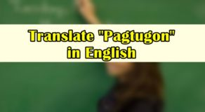 "Pagtugon in English – Translate ""Pagtugon"" in English"
