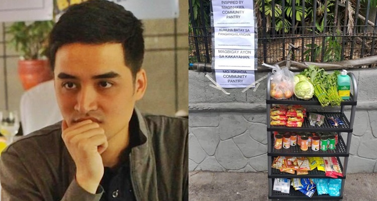 Vico Sotto on Community Pantry