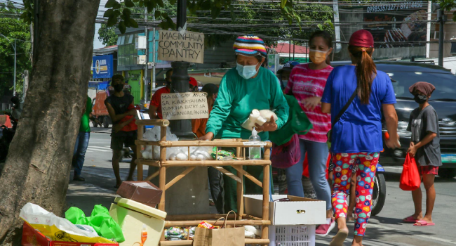 Community Pantry Initiator Says Project Shows Gov't Aid Not Enough