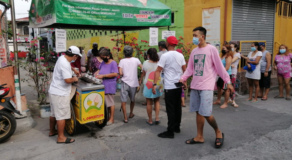Sorbetes Vendor Lauded For Giving Free Ice Cream At Community Pantry