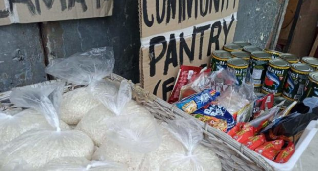 Pandacan Community Pantry Closes Due To Fear Of Red-Tagging
