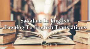 Sakalam In English – Tagalog To English Translations