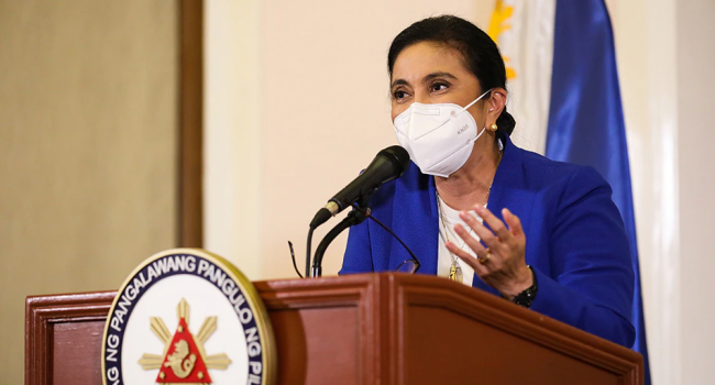 Robredo In Quarantine After Close Contact With Aid Who Tested Positive