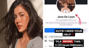 "Jane De Leon Seeks Help Over ""Poser"" Using Her Identity on Facebook"