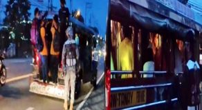 IATF Enforcers Apprehends Overloading Jeepneys Along Antipolo Rizal