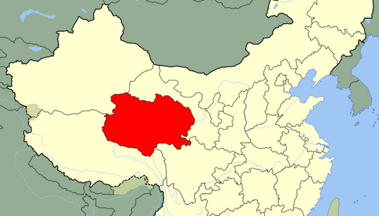 Qinghai province in China