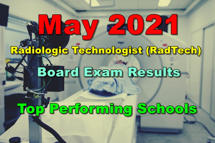 RadTech Board Exam Results