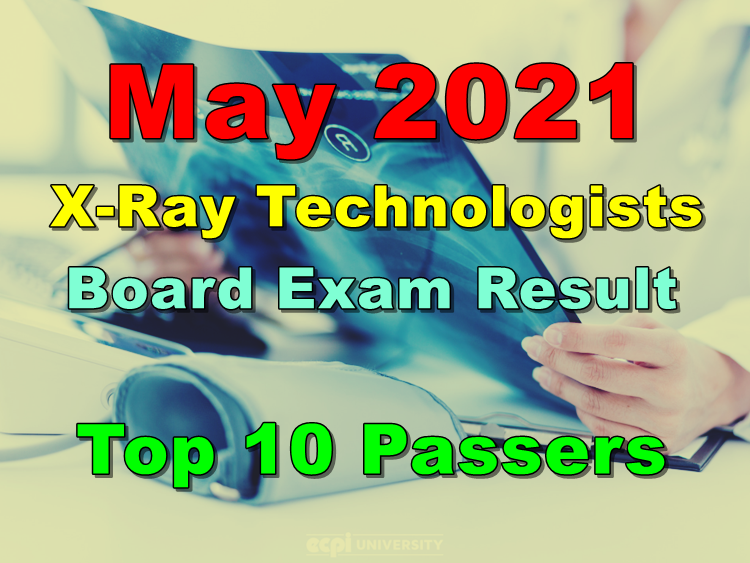 X-Ray Technologists Board Exam Result