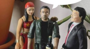 John Lloyd Cruz, Dolphy Action Figures, Who Is The Artist Behind These?