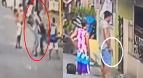 Barangay Chairman, Tricycle Driver Fight Caught on Cam Due to Parking