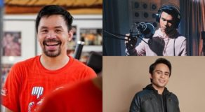 Manny Pacquiao Speaks About Michael and Jimuel's Showbiz Career
