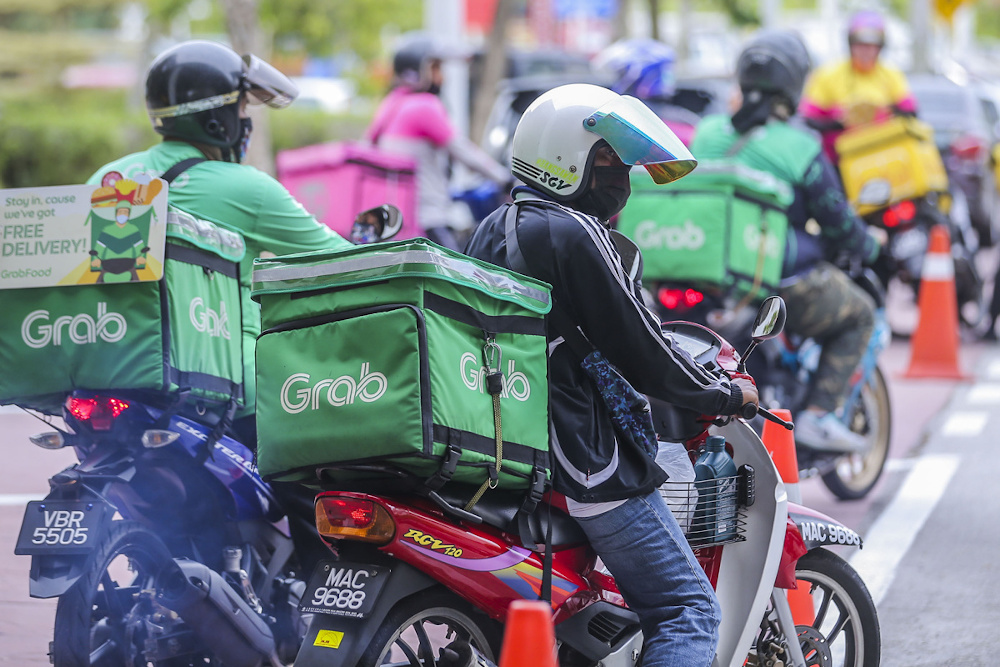 Delivery Riders Suspended