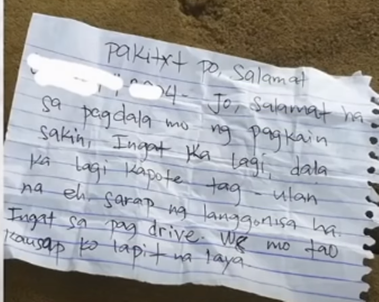Inmate's Letter