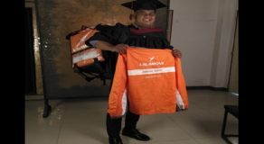Delivery Rider Expresses Gratitude to Lalamove After Graduating from College