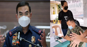 PNP Questioned QC Cop for Not Wearing Face Shield While Arresting Violator