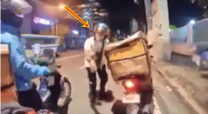 Video of Cyclist & Delivery Rider Having Exchange of Heated Argument Goes Viral