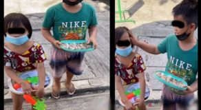 Adorable Sibling Selling Goods Despite Young Age Touched Hearts of Netizens