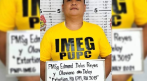 Another PNP Cop Arrested for Extorting Money from Police Applicant