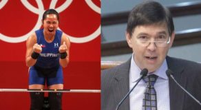 Hidilyn Diaz defeats China in Olympics, Ralph Recto has an intriguing reaction