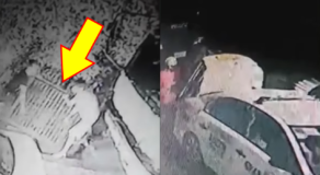 Taxi Driver, 2 Others Caught on Cam Stealing a Manhole Cover in Caloocan