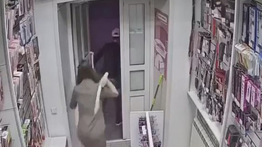 Thief Beaten by Adult Toy