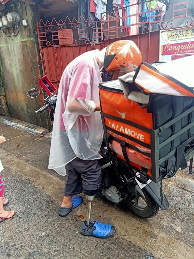 PWD Delivery Rider