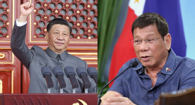 Duterte Guarantees To China PH Neutrality In Geopolitics In His Term