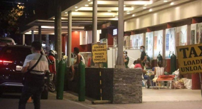 Cebu Hospitals Overburdened With COVID-19 Cases