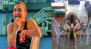 Malaysian Athlete's Unconventional Old Training Photo Earns Praises Online