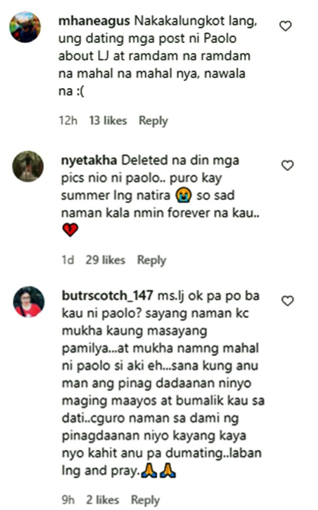 paolo contis lj reyes comments