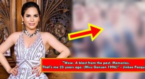 Jinkee Pacquiao Shares Throwback Photo From Her Pageant Days