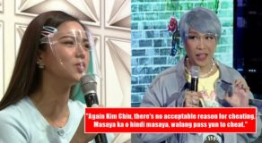 Vice Ganda Objects Kim Chiu On Her Stand About Validating Cheating